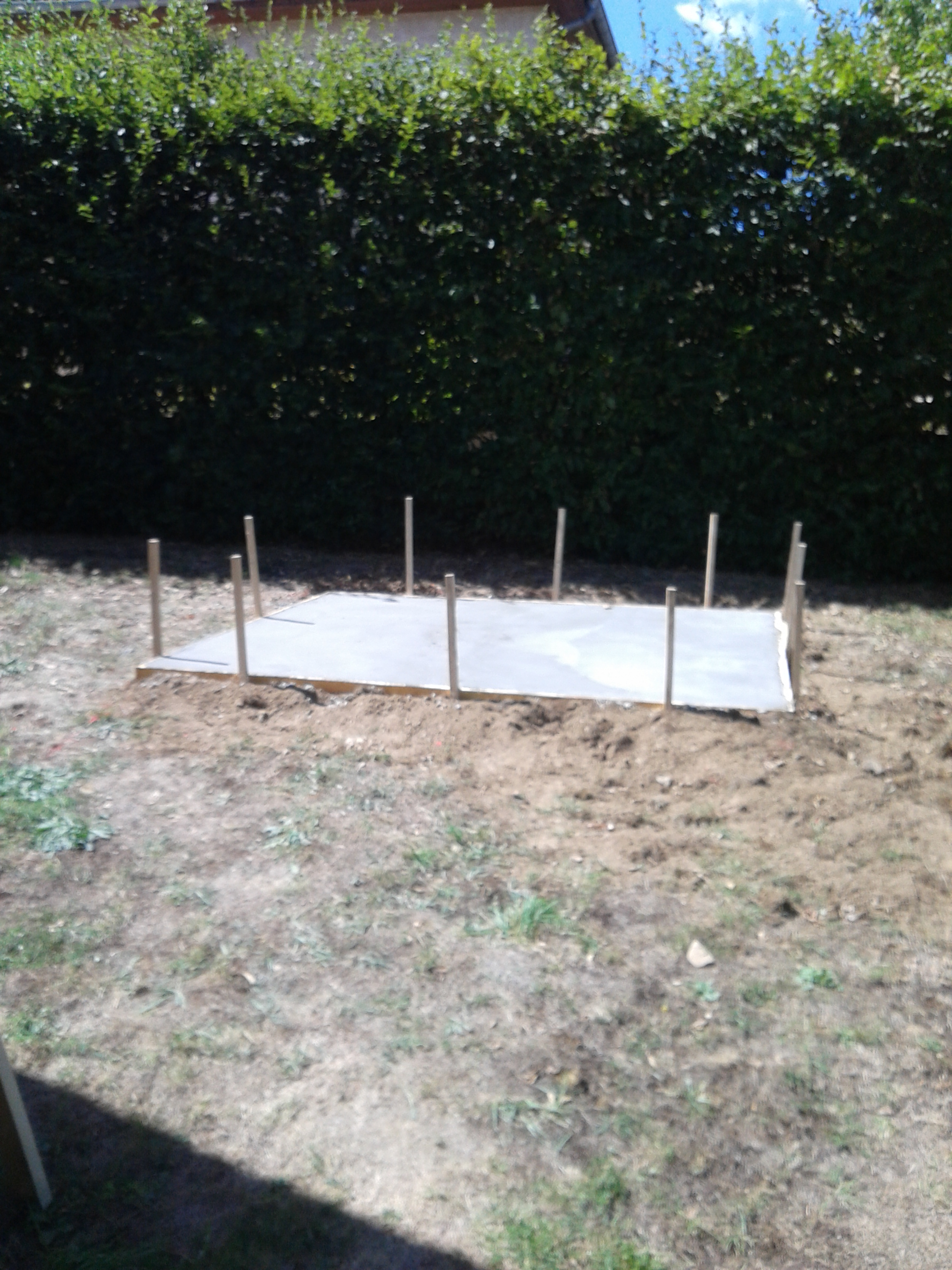 Abri jardin niollet coordination travaux nct for Abri de jardin declaration de travaux